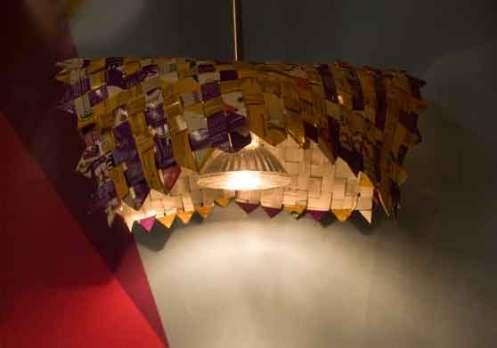 lampara de Reciclaje 2009